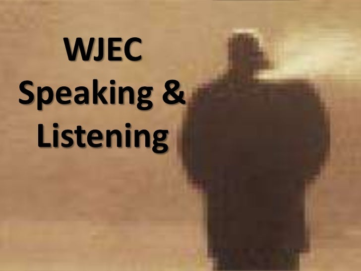 An inspector calls  wjec speaking & listening-creating a monologue