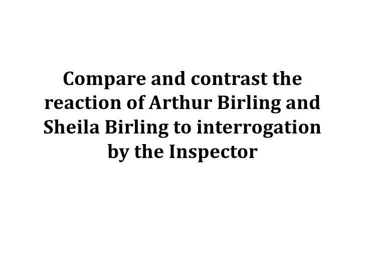 inspector calls sheila birling essay