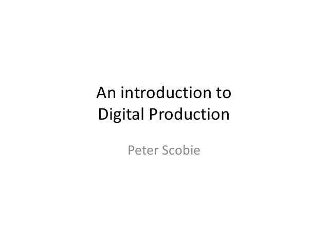 An Introduction to Digital (AdSchool 2013)