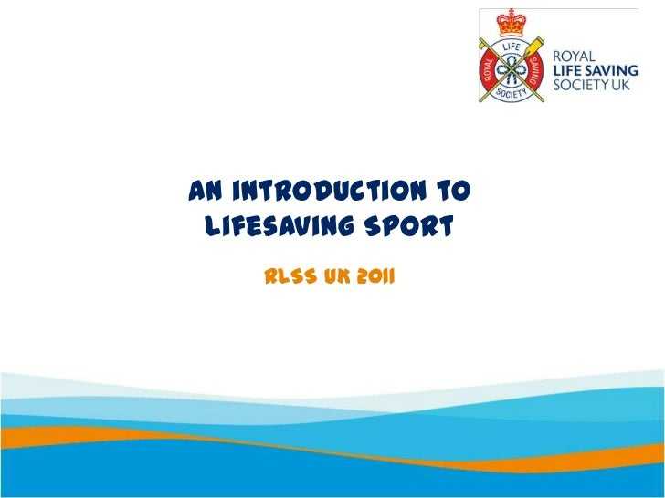 An introduction to lifesaving sport