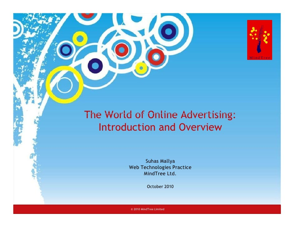 An Introduction to Online Advertising