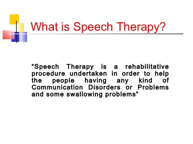 What speech