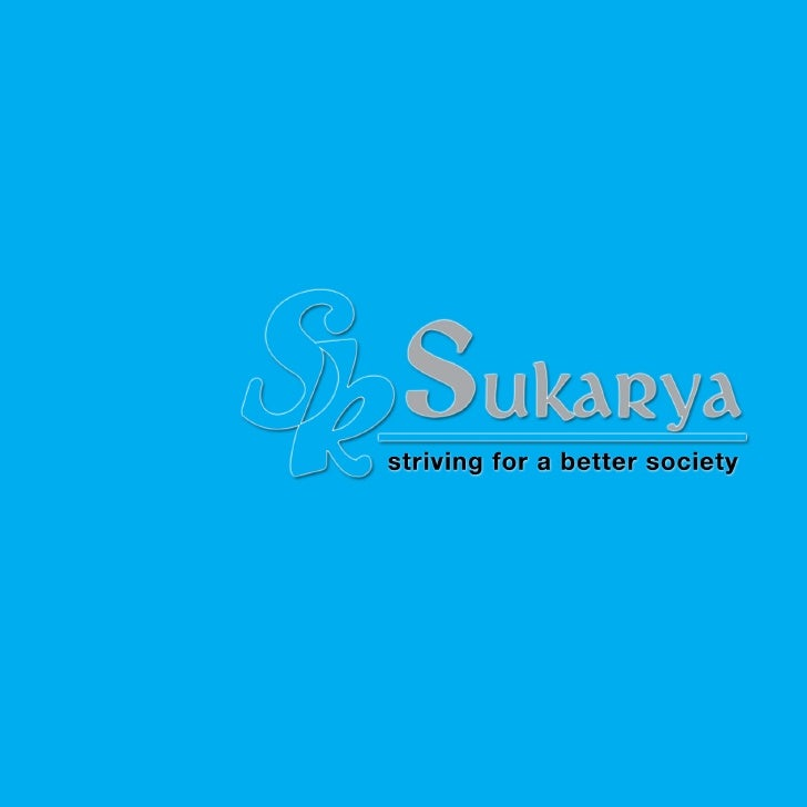 Sukarya brochure - An Introduction to Sukarya