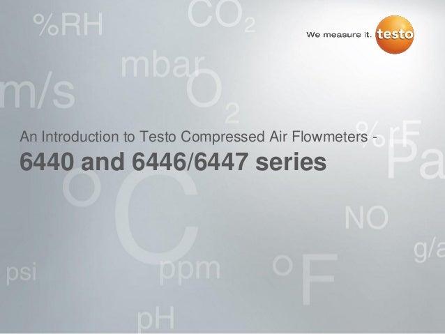 Compressed Air Flowmeters