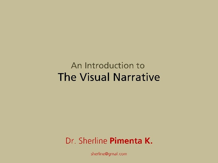 An Introduction to Visual Narratives