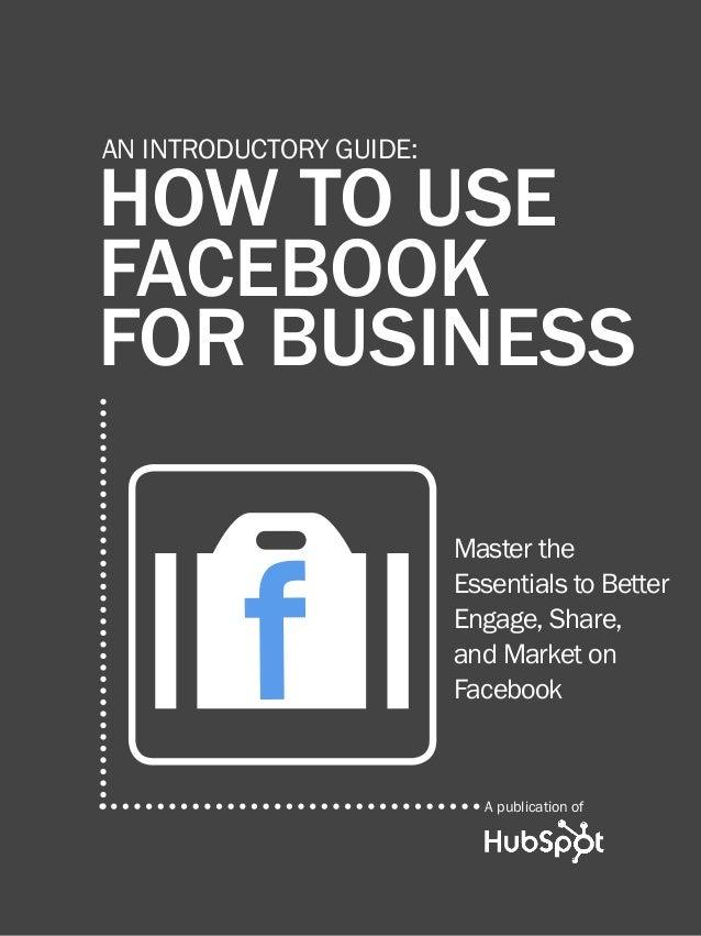 Cómo usar Facebook para hacer negocios.