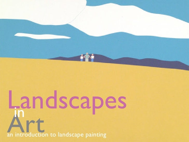 Landscapes  in Art an introduction to landscape painting