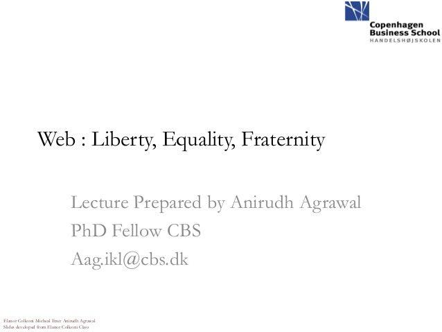 Advocacy equality web 2.0