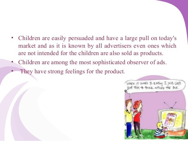 advertising ethics children Advertising to children is the act of marketing or advertising products or services  many advertisements bring ethics into question when they market themselves.
