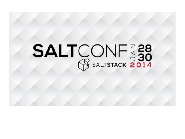 Using SaltStack for event-driven orchestration of OpenStack infrastructure components
