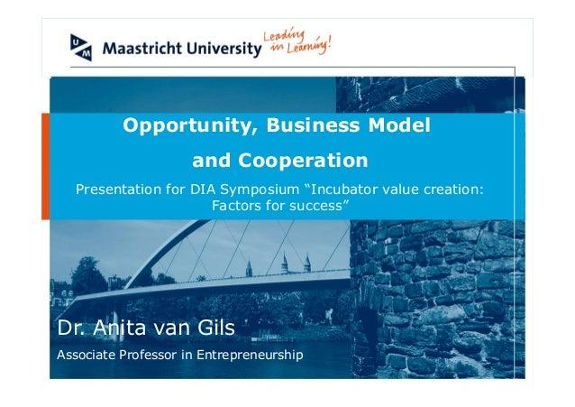 Anita van Gils op DIA-symposium 22-2-2013