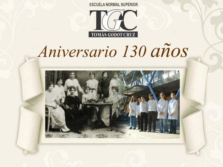 Aniversario 130  años