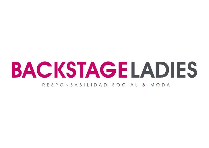 Aniversario Backstage Ladies