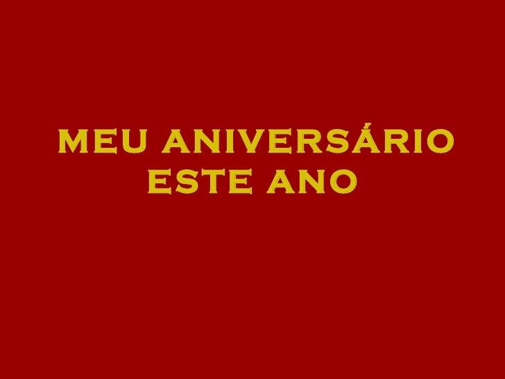 Aniversario De Jesus