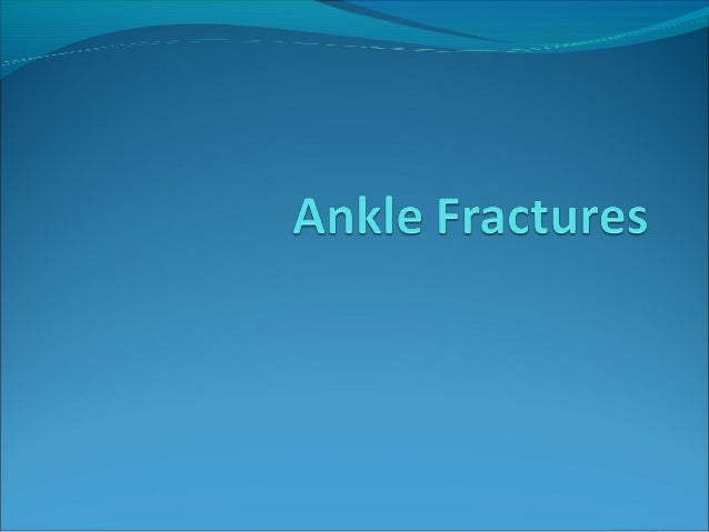 Ankle Anatomy andBiomechanicsThe ankle joint consists of the talus,which articulates withthe Malleoli medially and latera...