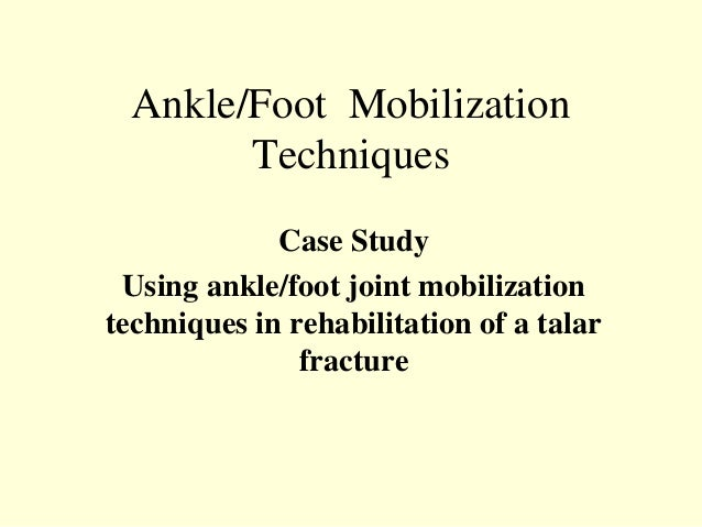 how to fix ankle mobility