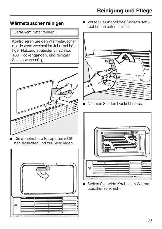 anleitung miele trockner t 494 c. Black Bedroom Furniture Sets. Home Design Ideas