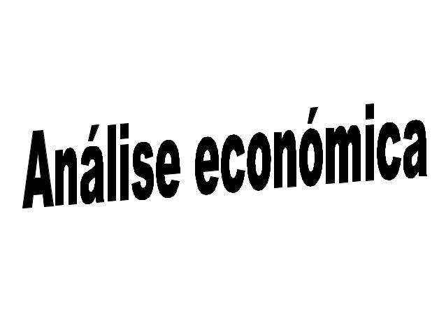 Análise económica