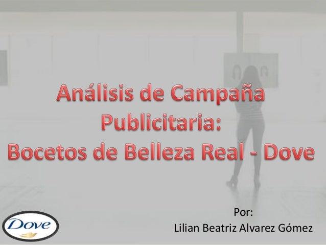 Por: Lilian Beatriz Alvarez Gómez