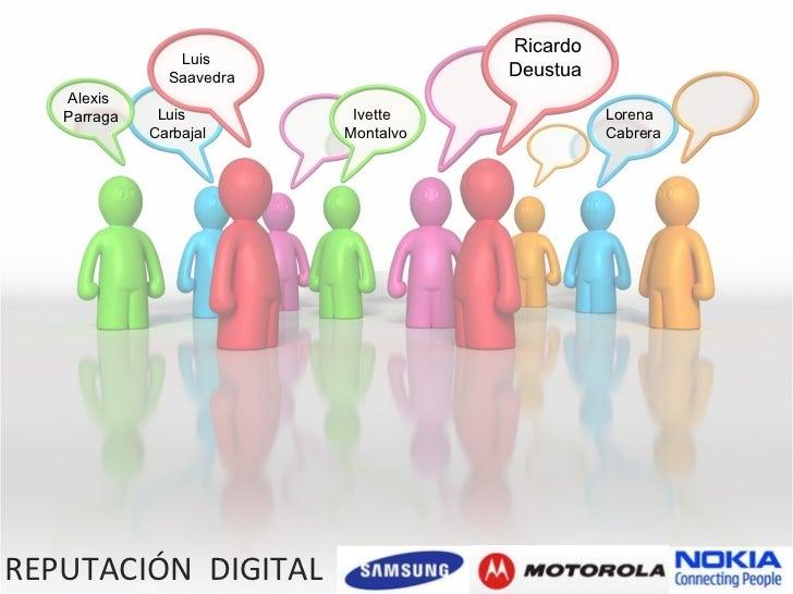 Análisis de reputación Samsung vs Nokia vs Motorola (28-10 al 27-11)