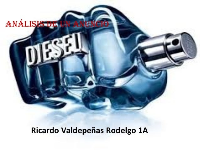 Análisis de un Anuncio Ricardo Valdepeñas Rodelgo 1A
