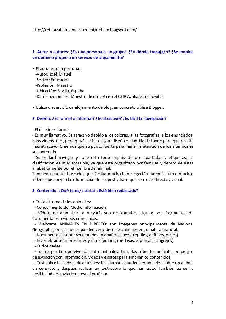 http://ceip‐azahares‐maestro‐jmiguel‐cm.blogspot.com/1.Autoroautores:¿Esunapersonaoungrupo?¿Endóndetrabaja...