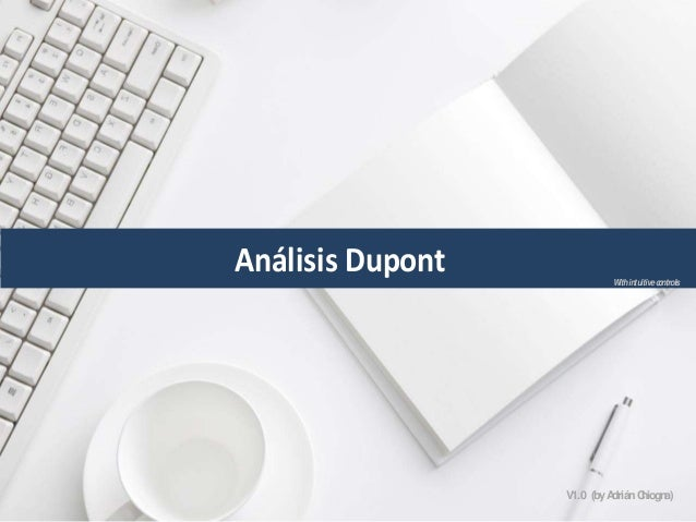 Análisis Dupont (excel) with intuitive controls