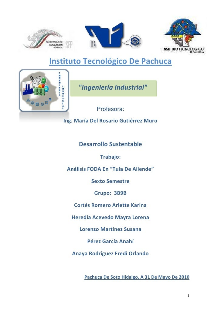 """1828165546104406900-151765-469900114300<br />-394335501650Instituto Tecnológico De Pachuca<br />"""" Ingeniería Industrial"""" <..."""