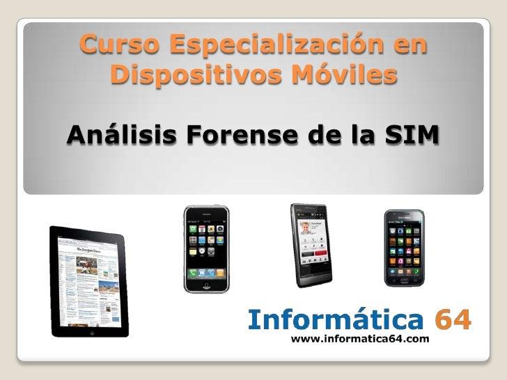 Análisis forense de tarjetas sim, smartcards, etc