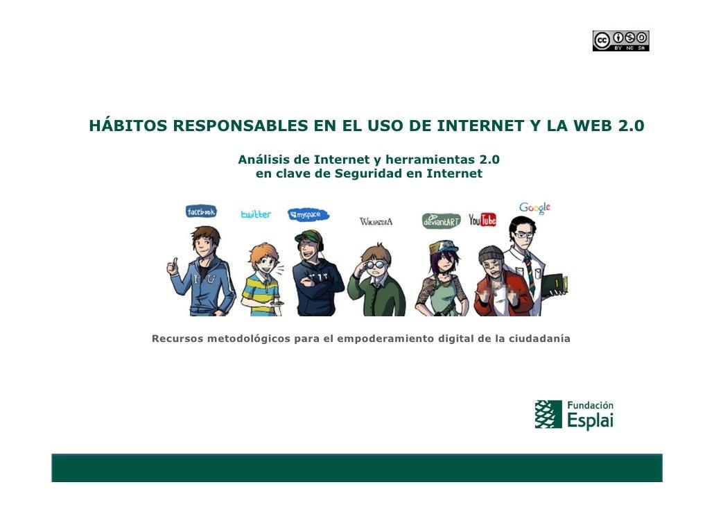Análisis internet y web 2.0. seguridad en internet