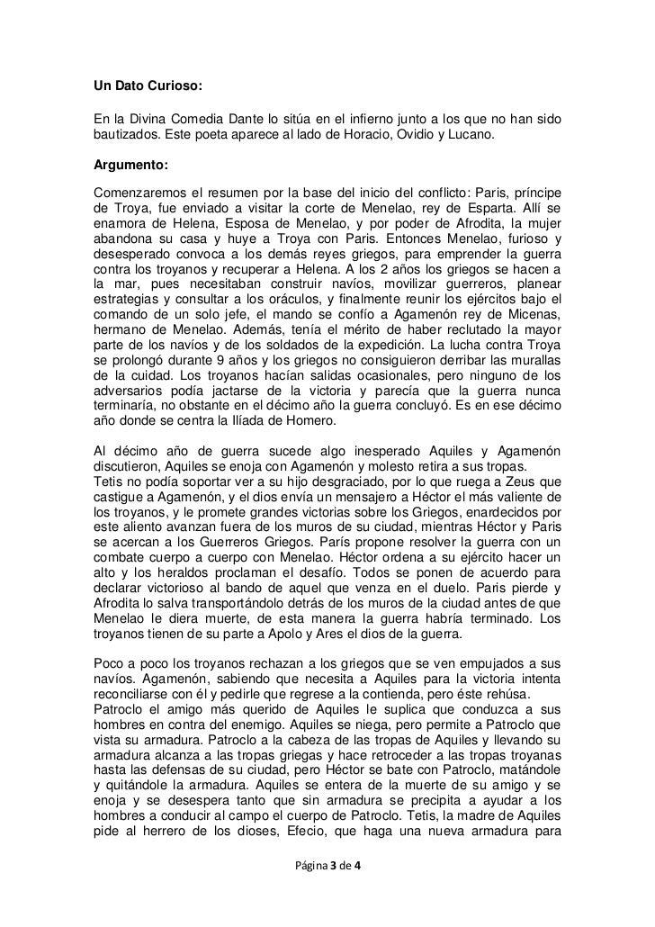 an 225 lisis literario la iliada
