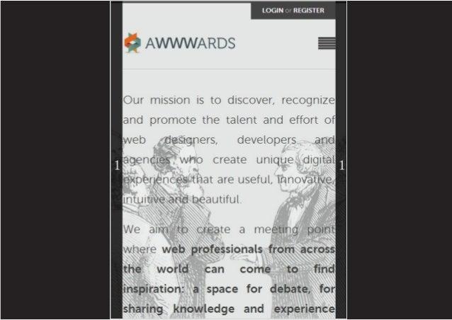 Análisis pantalla meizu m8 awwwards presentación