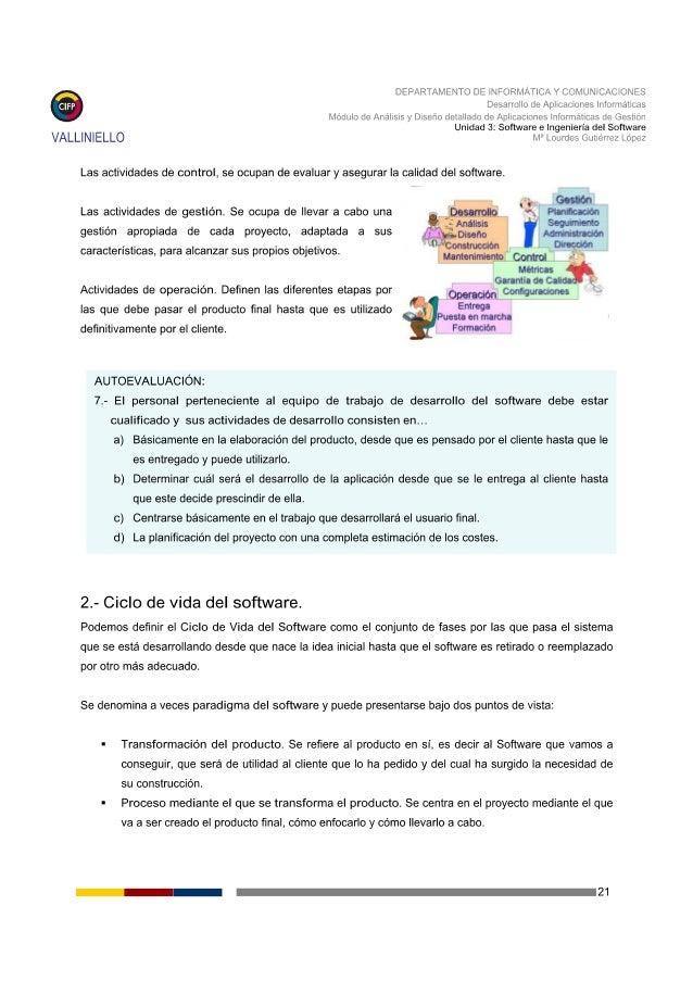 DEPARTAMENTO DE INFORMATICA Y COMUNICACIONES   Desarrollo de Aplicaciones Informáticas Módulo de Analisis y Diseño detalla...