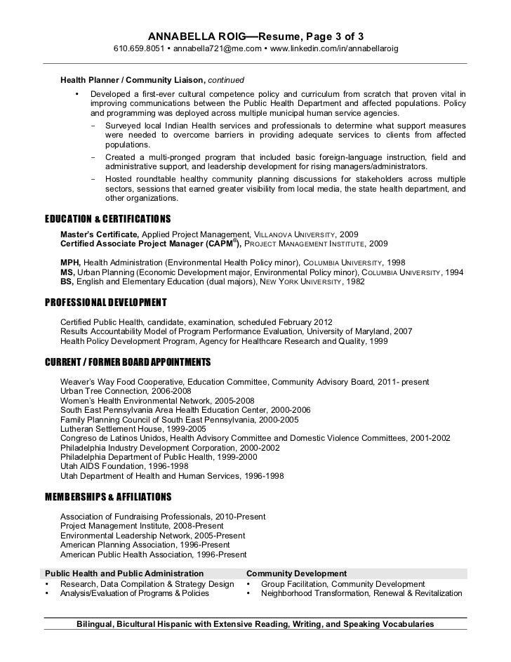 annabella roig h planning resume 12 2011