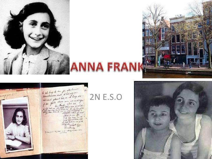 ANNA FRANK<br />2N E.S.O<br />