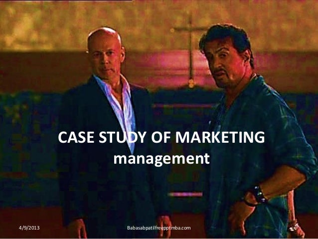 CASE STUDY OF MARKETING management 4/9/2013 Babasabpatilfreepptmba.com