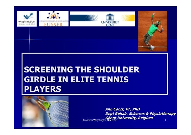 Ann cools 4 screening tennis players [compatibiliteitsmodus]