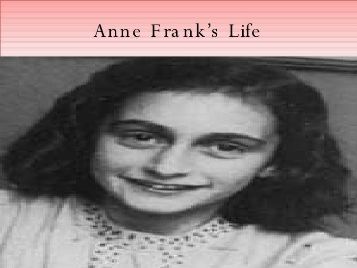 Anne Frank's Life