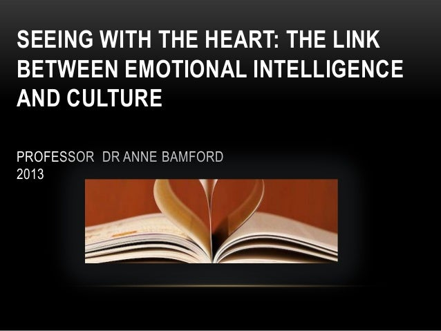 Anne Bamford :: emotional intelligence :: Symposium Arts Education 11.05.2013