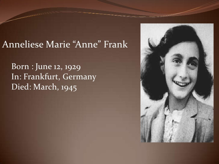Cats Name In Anne Frank