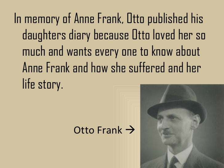 Essay About Anne Frank