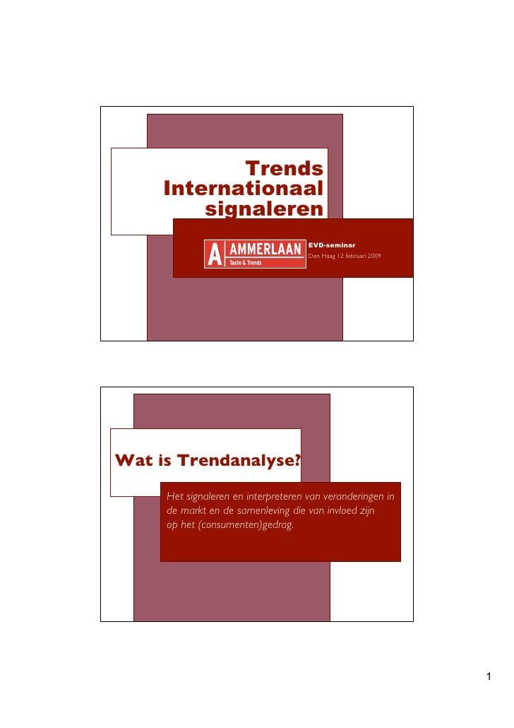 Trends      Internationaal          signaleren                                      EVD-seminar                           ...