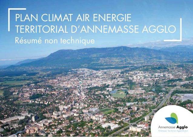 Résumé non technique Plan Climat Air Energie Territorial d'Annemasse Agglo