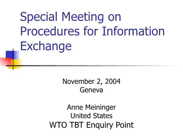 Anne Meininger Usa