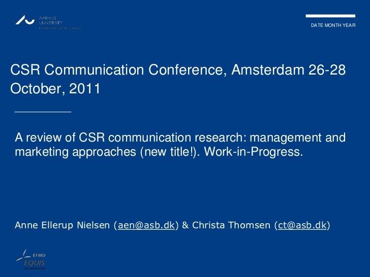 Session 5, Ellerup Nielsen & Thomsen