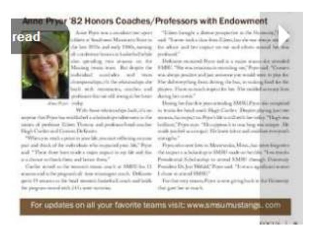 Anne Pryor Establishes Three Endowed SMSU Scholarships