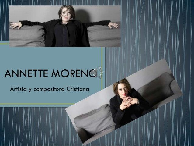 Annette moreno for Annette moreno y jardin