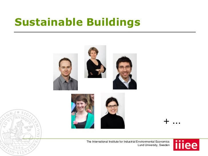 Sustainable Buildings                                                                          + ...            The Intern...