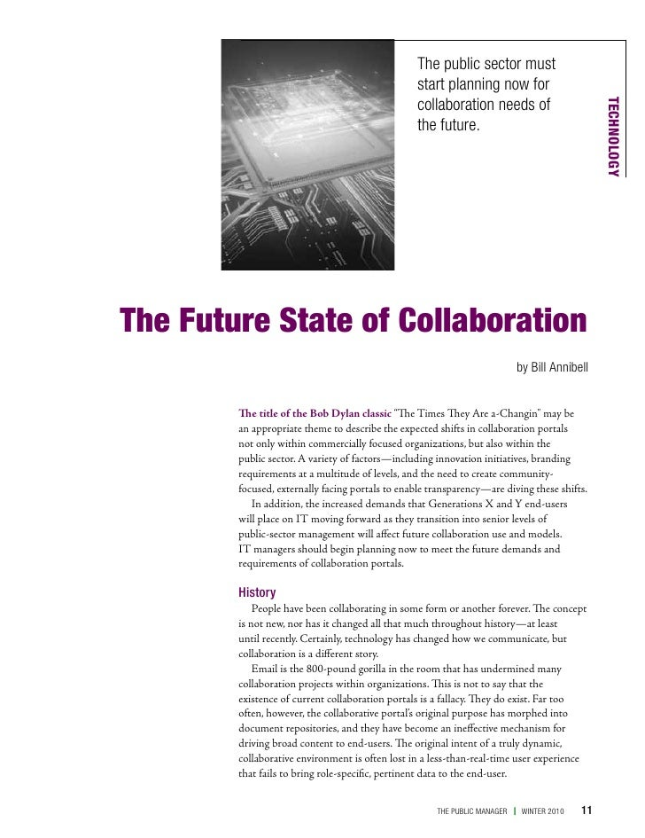 The Future State of Collaboration