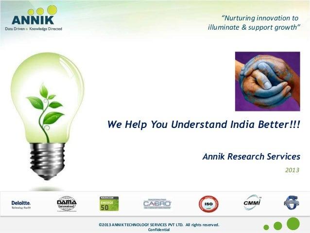 Annik capability document   india